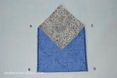 Come cucire un sacchetto origami in modo veloce – Cucire a Macchina Origami, Bags, Home Decor, Handmade Handbags, Tote Purse, Pouch Bag, Handbags, Decoration Home, Room Decor