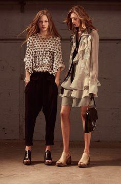 Chloé Spring 2016 Ready-to-Wear Collection - Luxurious Magazine Asia Estilo Fashion, Love Fashion, High Fashion, Fashion Outfits, Womens Fashion, Fashion Design, Fashion Trends, Haute Couture Style, Fashion Corner