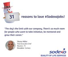 31 31 Reasons To Love Sodexojobs Ideas Job S Training And Development This Or That Questions