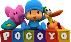 Pocoyo - Kit Completo com molduras para convites, rótulos para guloseimas, lembrancinhas e imagens!