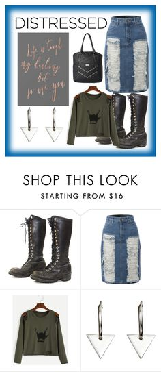 """""""Untitled #102"""" by elles265 ❤ liked on Polyvore featuring Nana', LE3NO, Natasha Sherling and Volcom"""