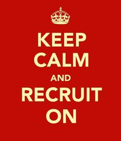 Have an over arching theme for the week of Recruitment School!  Could inspire attire, games, food, etc.