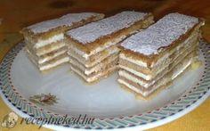 Nyolc olyan receptet mutatunk, amit biztos nem süt a szomszéd! Hungarian Desserts, Hungarian Recipes, Pie Dessert, Cake Cookies, Delicious Desserts, Deserts, Food And Drink, Sweets, Baking