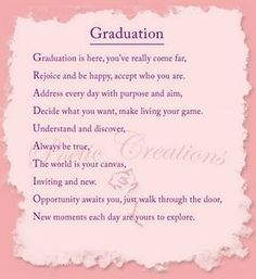 Printable: Dream Big Poem | Graduation and End of the ...