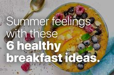Scientific studies found, that having breakfast is no necessity to start the day with enough energy, because our blood-sugar levels are still high for the first hours after getting up. #summerbreakfast #healthyfood #diettips #vegan #veganfood Summer Feeling, Start The Day, Blood Sugar, Diet Tips, Vegan Recipes, Walking, Breakfast, Ethnic Recipes, Food