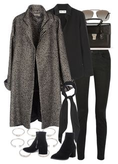 Untitled by nikka-phillips featuring tom ford glasses Winter Fashion Outfits, Work Fashion, Fall Outfits, Autumn Fashion, Christmas Outfits, Classy Outfits, Stylish Outfits, Mode Kpop, Looks Black