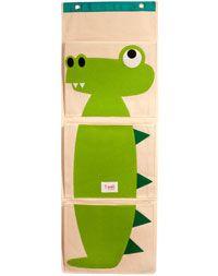 3 sprouts® Organic Wall Organizer - Alligator.