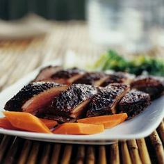 Tea-Smoked Duck Breasts Recipe Main Dishes with tea leaves, clove ...