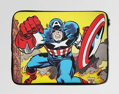 Captain America Comics Laptop Sleeve Case  LSC-0103