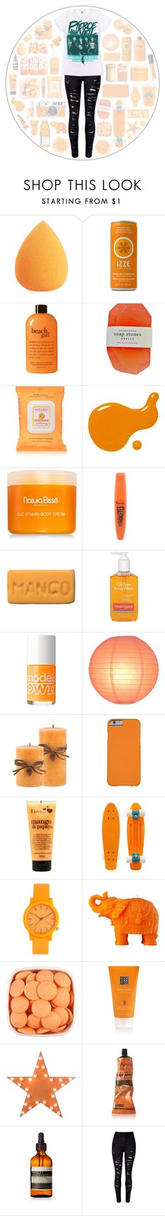 """(iPhone app) See how I made this set!"" by kaylaita0603 ❤ liked on Polyvore featuring philosophy, Burt's Bees, Natura Bissé, Rimmel, Hermès, Neutrogena, Models Own, I Love..., Komono and Mario Luca Giusti"