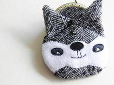 raccoon purse