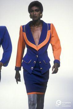 Katoucha Niane | Emanuel Ungaro, Spring-Summer 1990, Couture