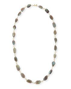 """Armenta Sueno Labradorite Bead Necklace, 36""""$6,490.00"""