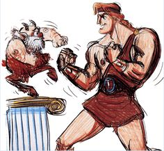 Hercules concept art