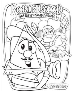 coloring pages feturing veggie tales | Religious Color Pages For Kids - Yahoo Image Search ...