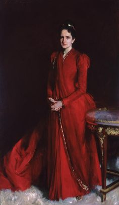 John Singer Sargent American, 1856–1925 Portrait of Mrs. Elliott Fitch Shepard (Margaret Louisa Vanderbilt), 1888 Oil on canvas San Antonio Museum of Art -