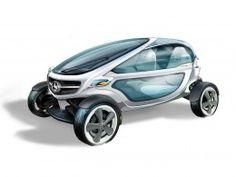 Mercedes-Benz Vision Golf Cart Concept - Design Sketch