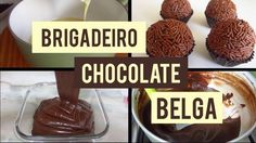 Brigadeiro de Chocolate Belga - YouTube