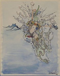 Groo - early watercolour