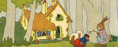 art deco cottage