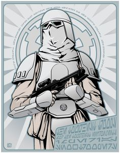 Snowtrooper by ~jpc-art on deviantART | This art first pinned here: http://pinterest.com/fairbanksgrafix/star-wars-art/ #StarWars #Art