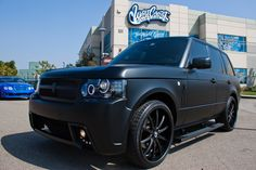 Justin Beiber's Range Rover by West Coast Customs and Oracle Lights
