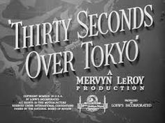 Image result for 30 SECONDS OVER TOKYO POSTER