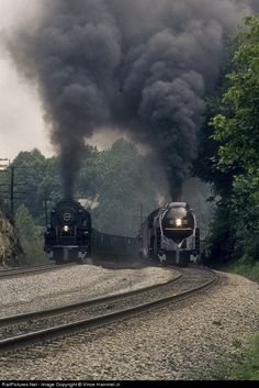 RailPictures.Net Photo: N&W 1218 Norfolk & Western Steam 2-6-6-4 at Christiansburg, Virginia by Vince Hammel Jr