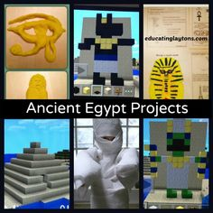 Fun Hands-On Ancient Egypt Projects