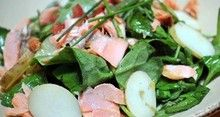 A heart-healthy recipe for Salmon Salad.