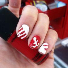 Mac Hey Sailor inspired nails :)