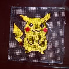 Pikachu Pokemon perler beads by dorothy_wow | Okreation | Pinterest ...