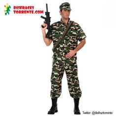 Disfraz Soldado Camuflaje