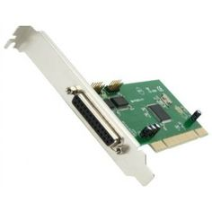 SYBA SY-PCI50029 Combo 2 DB-9 Serial (RS-232) 1 DB-25 Parallel Printer Ports PCI Controller Card IOC835 Chipset by Syba. $20.87. Description:Designed for quick installation and easy setup. Serial ports are ideal for connecting to modem, cellular phone, PDA, ISDN terminal adapter, satellite receiver, graphic tablet, bar code scanner, label printer, automated teller machine, GPS, finger print identification, Infra-Red transceiver, packet radio, magnetic card reader, ...