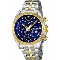 100% Authentic with 2-Year Festina Backed Warranty Included. Item Festina Men's Watch Model # F16655/3 Collection Chrono Sport Case Silver-Tone Stainless Steel Case Back Screw-Down Stainless Steel Bez