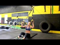 TRX 6 Exercises to 6 pack ABS! Treadmill Factory TV TRX Abdominal Workout with Kasia Sitarz - YouTube