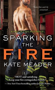 Sparking the Fire is the final book in the Hot in Chicago series by Kate Meader. I'm sad to see this series come to an end as it's been a wild ride with the fun and feisty Dempsey foster siblings, but they get top billing on my reread shelf and …