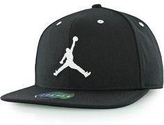 d25967f5160 Jumpman Black Snapback Cap by JORDAN