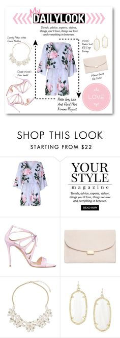 """My Daily Look #1"" by lalalaballa22 on Polyvore featuring Pussycat, Casadei, Mansur Gavriel, Dorothy Perkins and Kendra Scott"