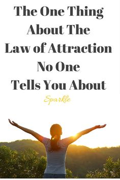 Are you into the Law of Attraction? So why is it still so hard to manifest a successful business, abundance, money, a soulmate, etc?  That's the one thing no one tells you about the Law of Attraction. Read more: http://sparkleentrepreneur.blogspot.co.uk/2016/04/the-one-thing-about-law-of-attraction.html