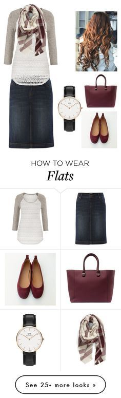 """Untitled #25"" by dom1820 on Polyvore featuring Linea Weekend, maurices, BP., Victoria Beckham and Daniel Wellington"