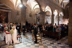 Wedding #ceremony #church #Lucca Photo by Foto Cortopassi #destinationwedding #brideandgroom #happilyeverafter #weddingplanner #ilbiancoeilrosa #luccawedding #destinationweddinglucca #destinationweddingtuscany #catholicwedding