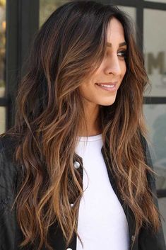 There are countless hairstyles that can be created on the basis of layered haircuts. Let's discover some fresh as well as classy hairstyles for long, layered hair. #hairstyles #longhair #layeredhair