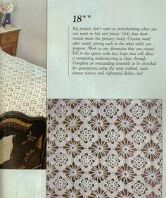 Σχέδια για τρεις μοναδικές πλεκτές κουβέρτες, Μικρά δαντελένια μοτίφ, patterns for three unique knitted blankets, Muster für drei einzigartige gestrickte Decken, patrones para tres únicas mantas de punto