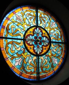 Stained Glass Window at Old Saint Mary's   Old St. Mary's Church is a parish church of the Roman Catholic Archdiocese of Cincinnati in the United States.   Flickr - Photo Sharing!