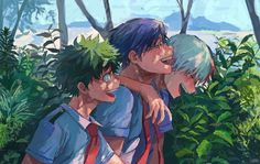 Yaoi, Fluff, Ships, AUs, and crossovers of BNHA pics! (None of the fanarts belong to me! They belong to their rightful owners!) Ranked: - Shota - Deku - Shoto - Katsuki Bakugou - All might - Ships [Jun - Bnha my hero [Jun - bokunoheroaca. Manga Anime, Comic Anime, Me Anime, Fanarts Anime, Anime Guys, Anime Art, Anime Expo, My Hero Academia Episodes, My Hero Academia Memes