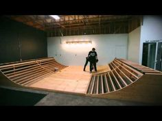 Building a Mini Ramp In 5 Minutes. - YouTube