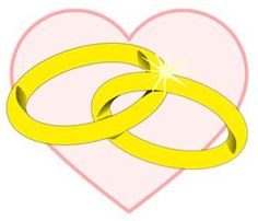 Wedding Ring Clipart Wedding Rings Public Domain Clip