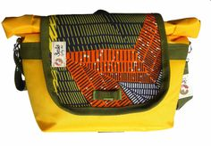 Daily Bikeable Shoulder Bag Afro Yellow