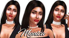 The Sims 4 Around The World; _Italian Beauty Monica_ + FULL CC LIST